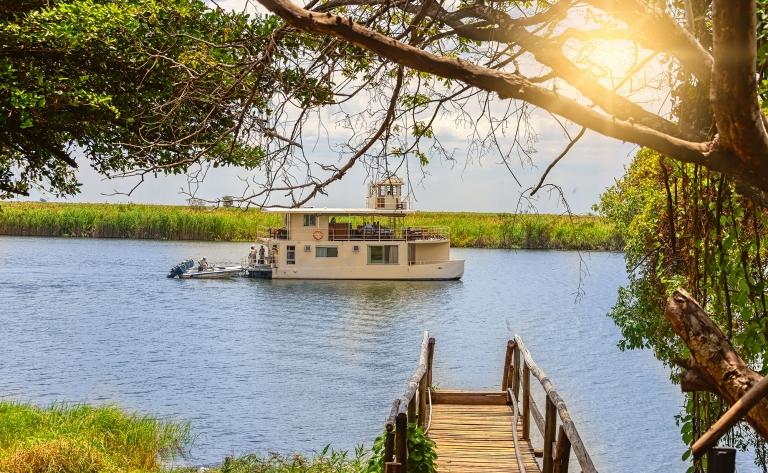 La croisière Okavango delta sur le Houseboat