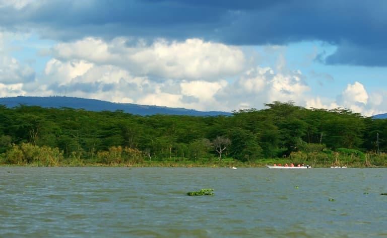 Excursion en bateau jusque Crescent Island