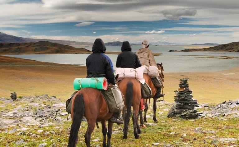 Excursion à cheval au mémorial de la reine Manduhai