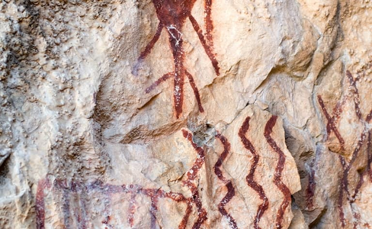 Grottes et peintures rupestres