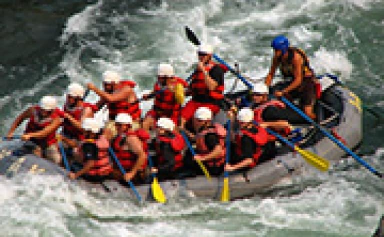 Rafting à Geysir
