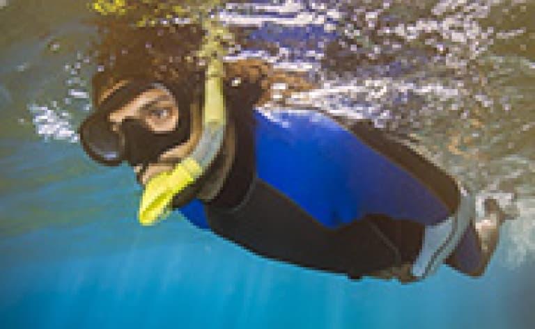 Snorkelling dans le parc de þingvellir