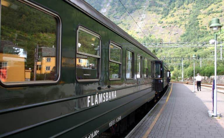 Train historique de Flåmsbana