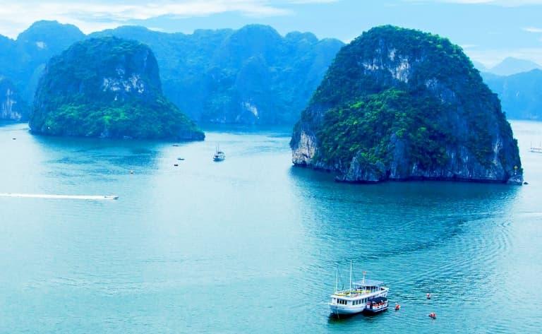 Croisière au cœur de la baie d'Halong