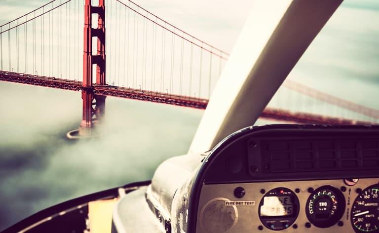 Survol de San Francisco en hélicoptère