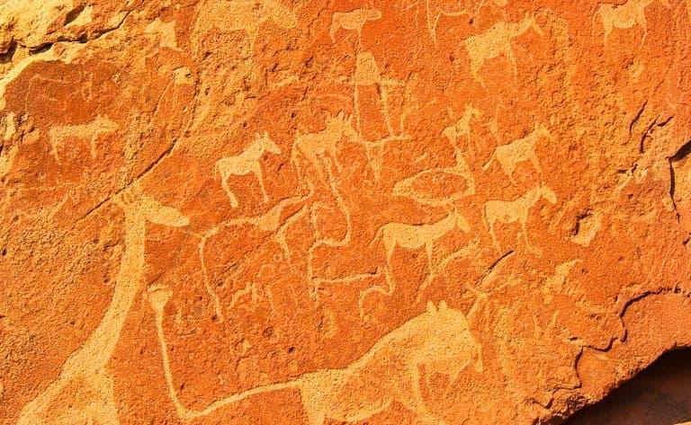 Visite du site de Twyfelfontein