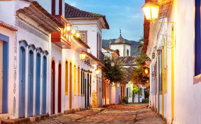 Visite guidée de Paraty au Brésil