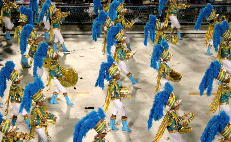 Samba et carnaval à rio