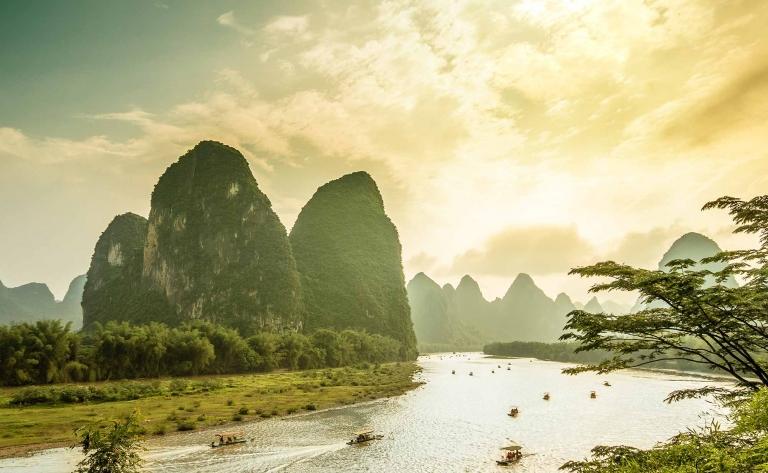 Croisière sur la rivière Li et découverte de Xingping