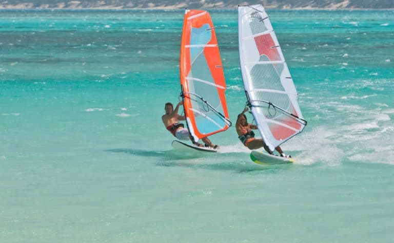 Initiation au windsurf