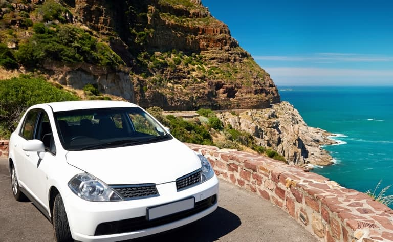 Location de voiture sur l'ile de Sal