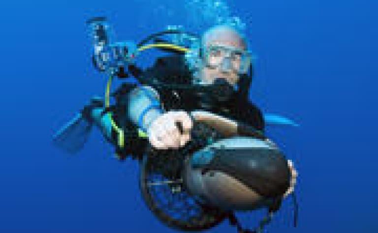 Sortie en scooter sous marin