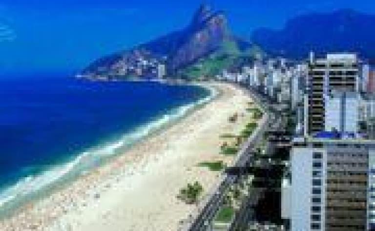 Le centre-ville de Rio