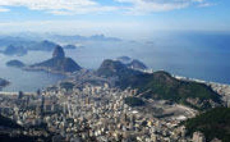 Le centre-ville de Rio à pied