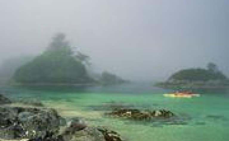 Kayak à Broken Group Island