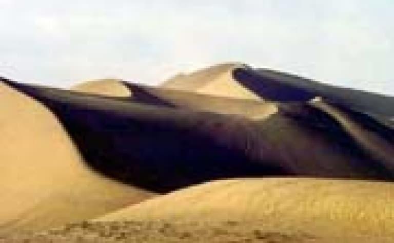 Dunes de sables (Dunhuang)