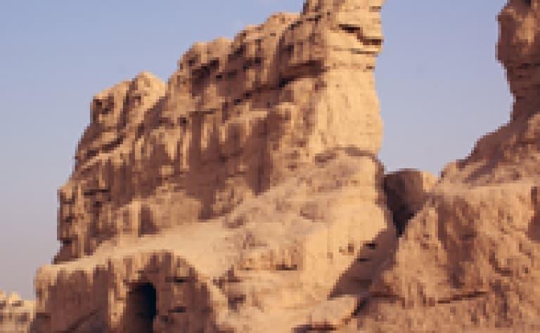 Ruines de Gaochang et Jiaohe (Turpan)