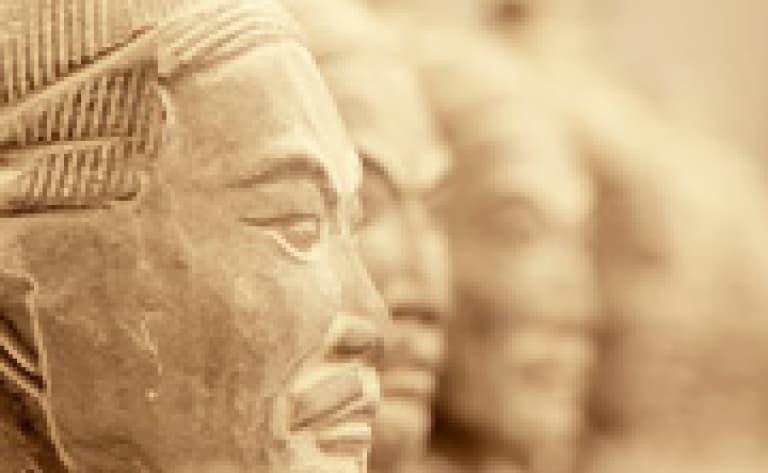 Rencontre avec un archéologue au Musée de Hanyangling (Xi'An)