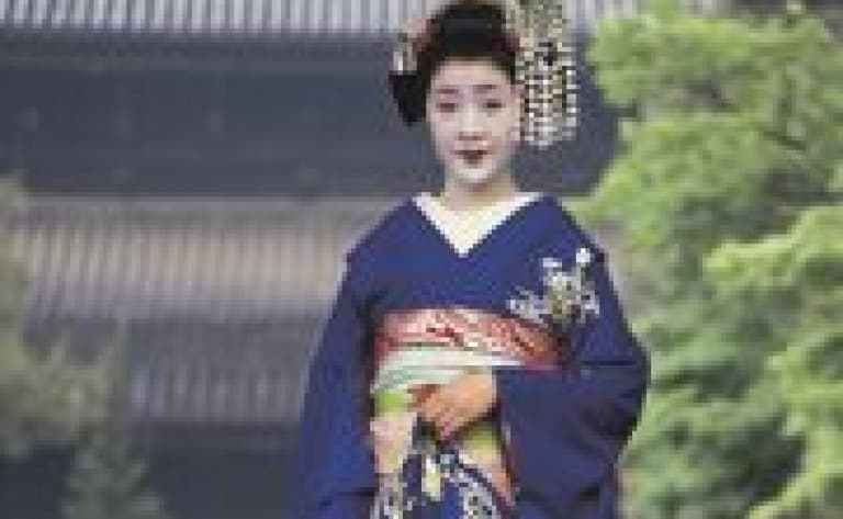 Dine in Gion and watch a traditional Japanese show