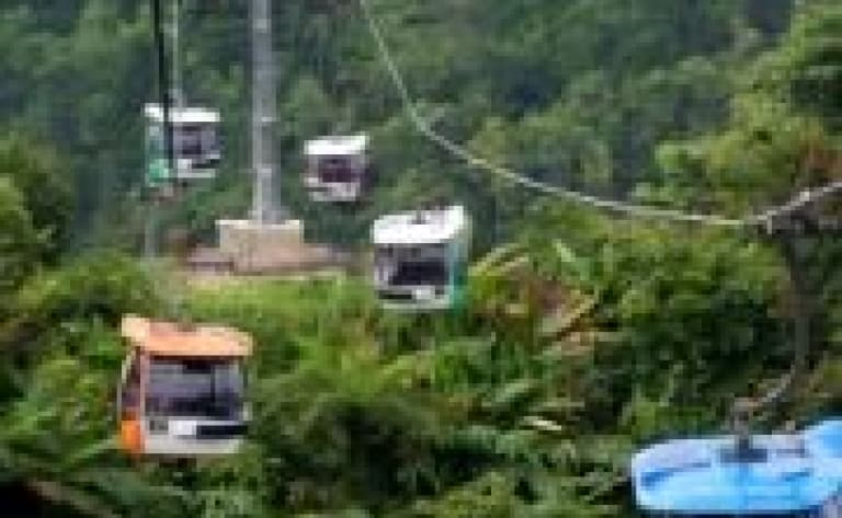 Cable car in Langkawi