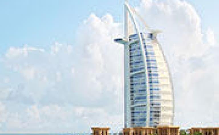 Dîner à Burj El Arab