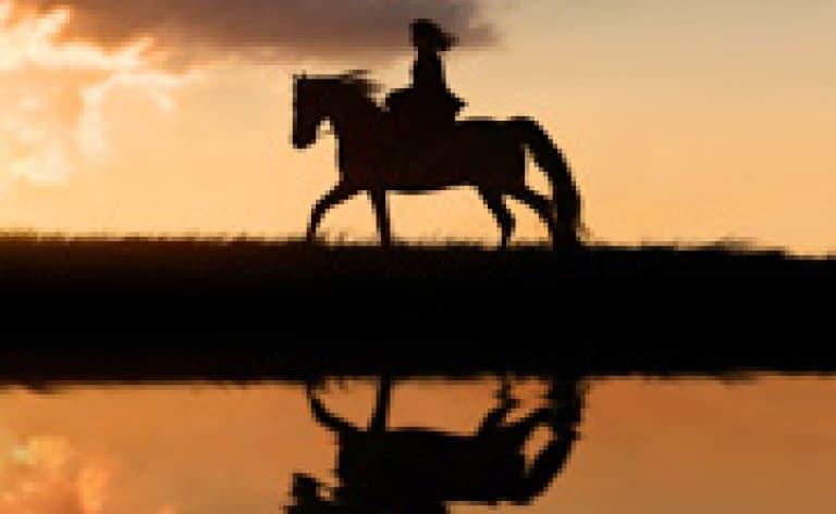 Balade à cheval au coucher du soleil - Swakopmund