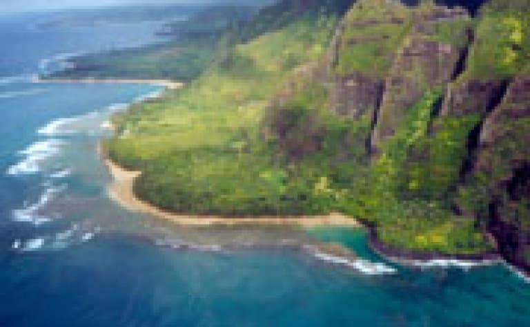 Survol en Hélicoptère de la Napali Coast