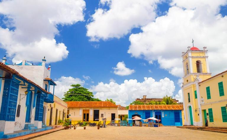 Camaguey, le plus grand ensemble colonial du pays