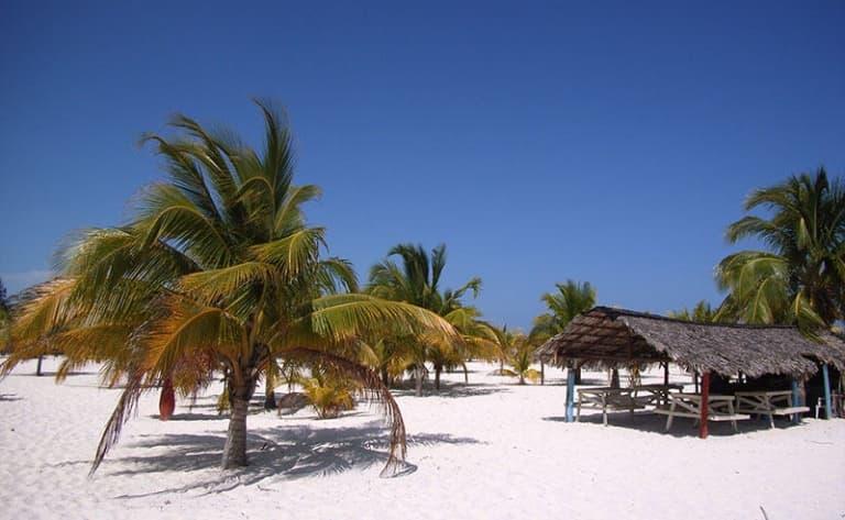 Arrivée à l'archipel de « Los Canarreos »