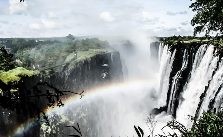 Transfert à Victoria Falls pour le voyage de retour