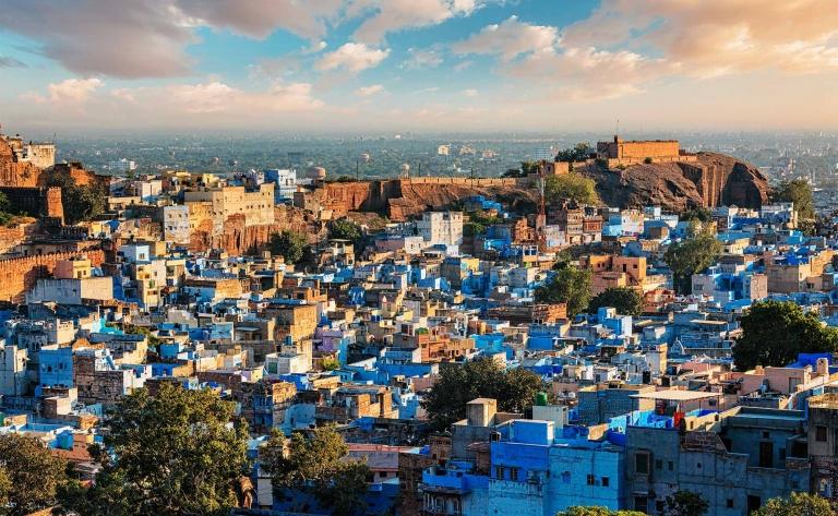 Jodhpur, la ville « bleue »