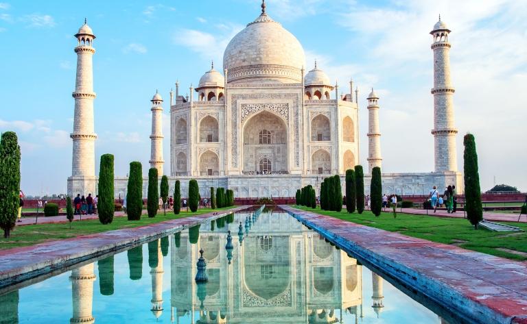 Taj Mahal, mirage de marbre blanc