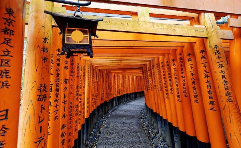 Direction Kyoto et dégustation de saké