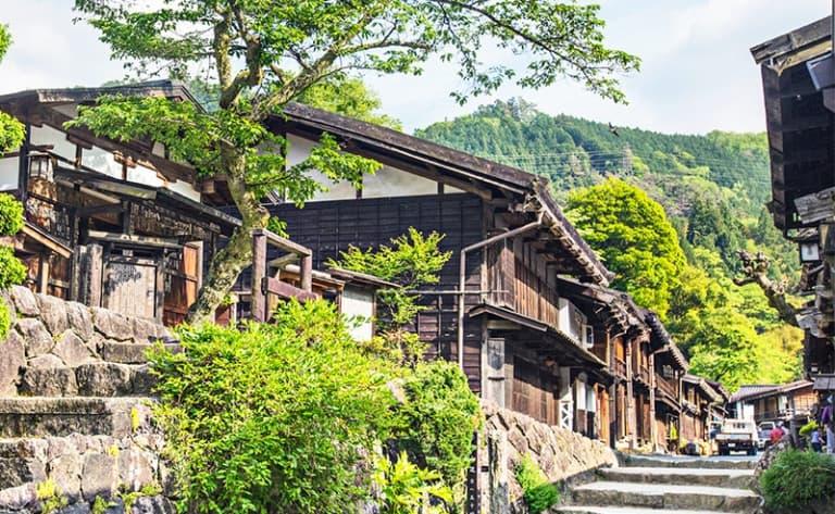 Authentique villages de la vallée de Kiso