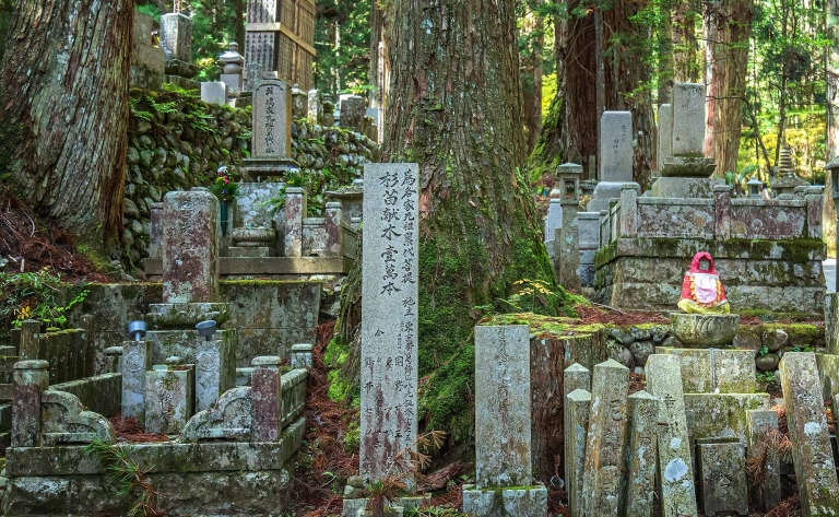 Les sites sacrés du Mont Koya