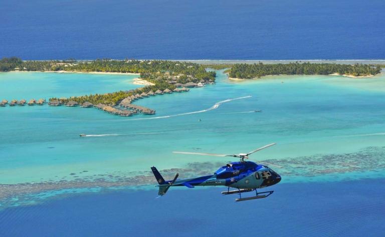 Tupai, l'Ile en Cœur : Escapade Romantique d'1 heure en Hélicoptère