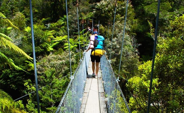 Randonnée dans le parc national Abel Tasman