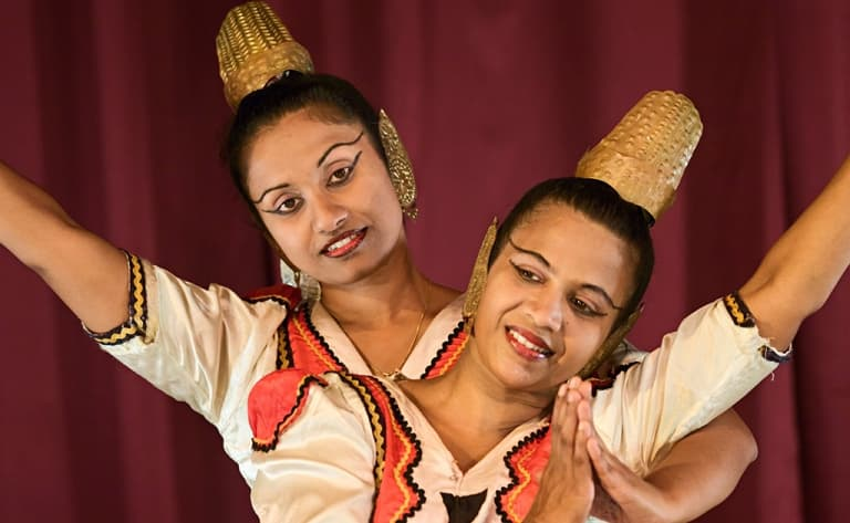 Spectacle de danses kandyennes