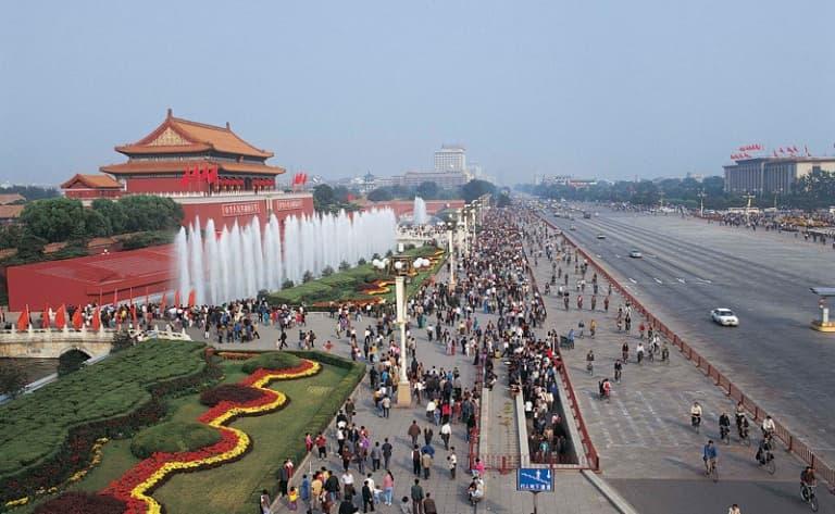 Retour à Pékin