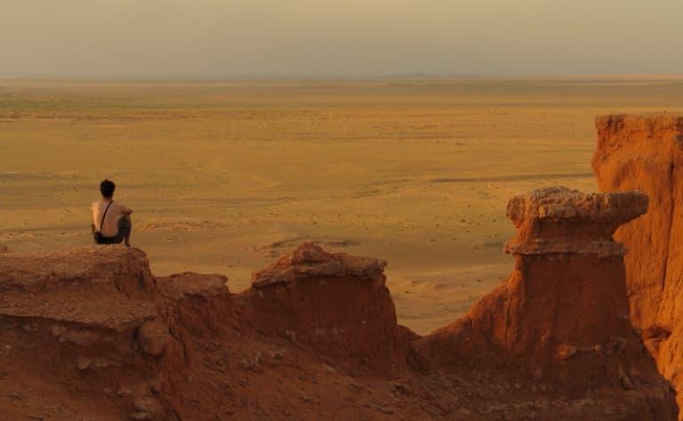 Incursion dans le désert de Gobi & falaises de feu de Bayanzag