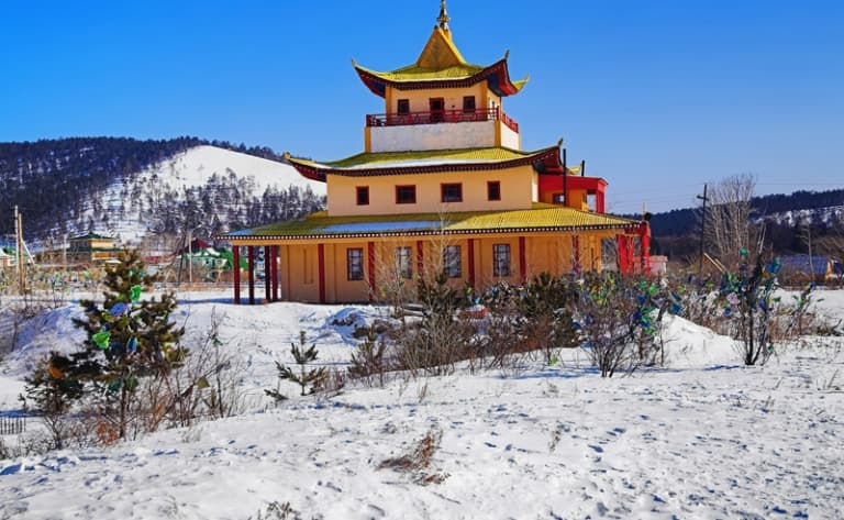 Vestiges du monastère bouddhiste de Manchir