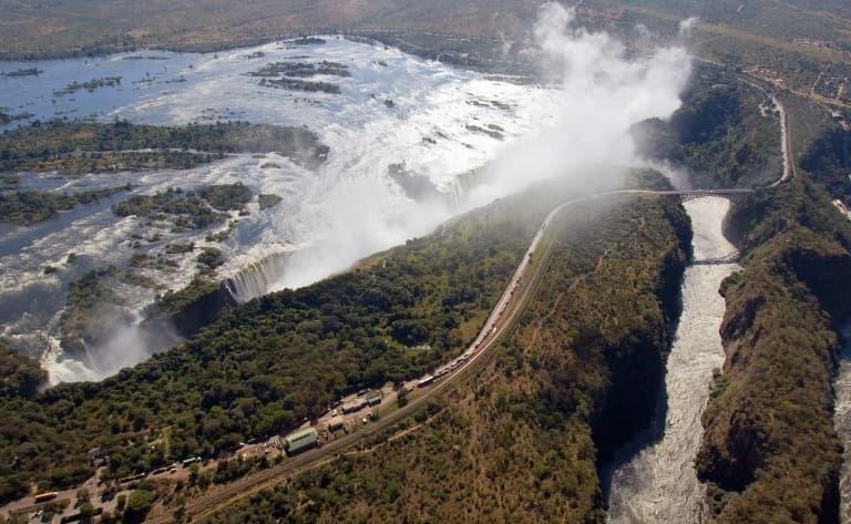 Entre Botswana, Namibie, Zambie et Zimbabwe