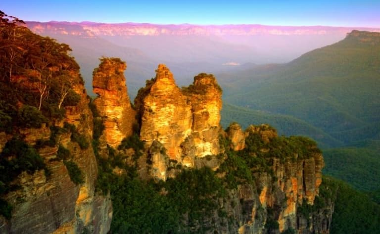 Excursion vers les Blue Mountains