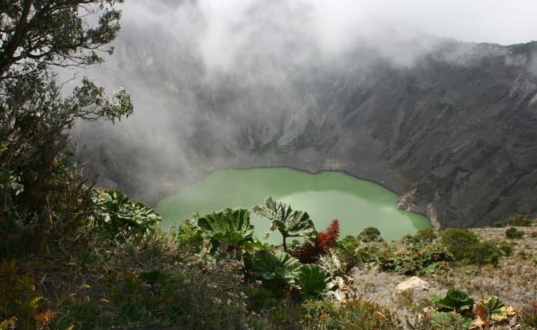 Balade sur le Volcan Irazu
