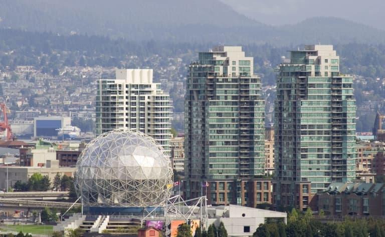 Route vers Vancouver et vol retour (124 km)