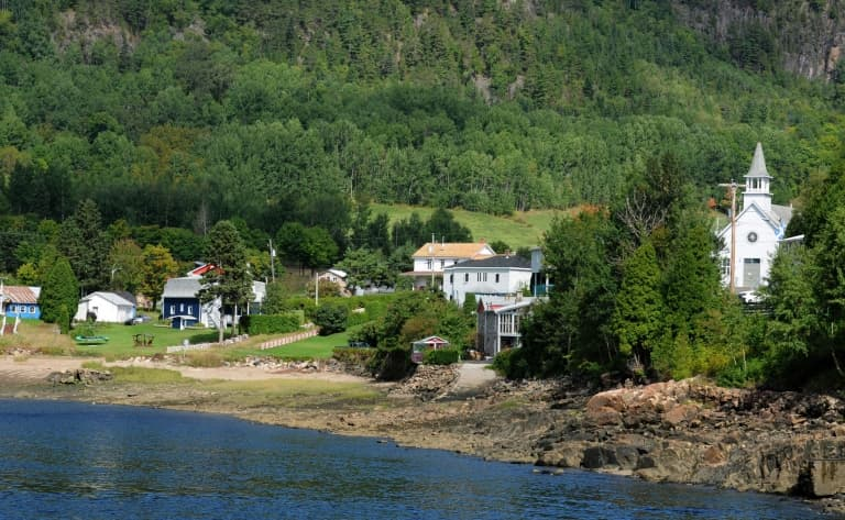 Route vers Sainte-Rose-du-Nord (170 km)
