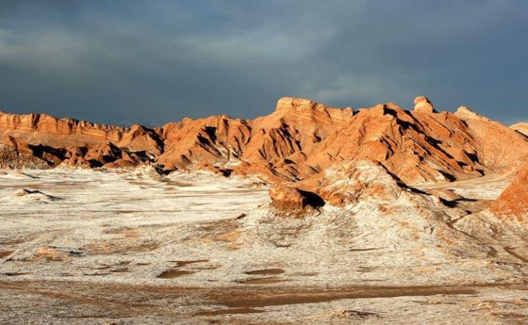 Une oasis au milieu du désert