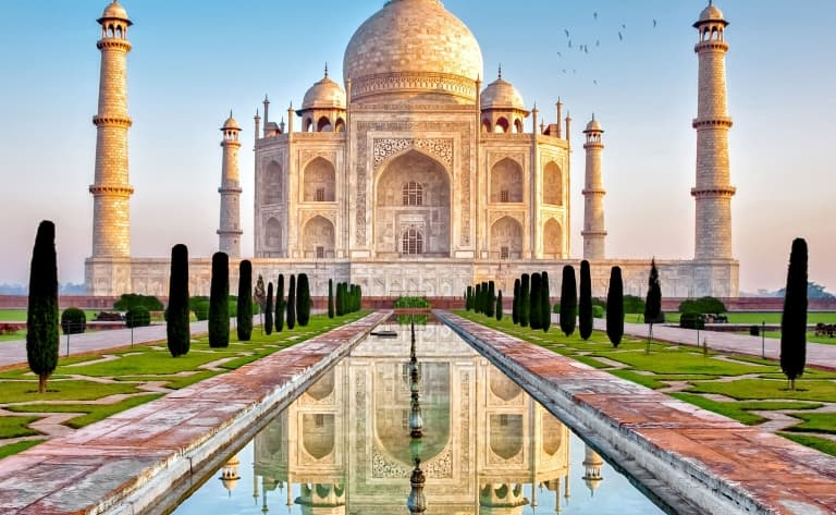 Le Taj Mahal ou extension
