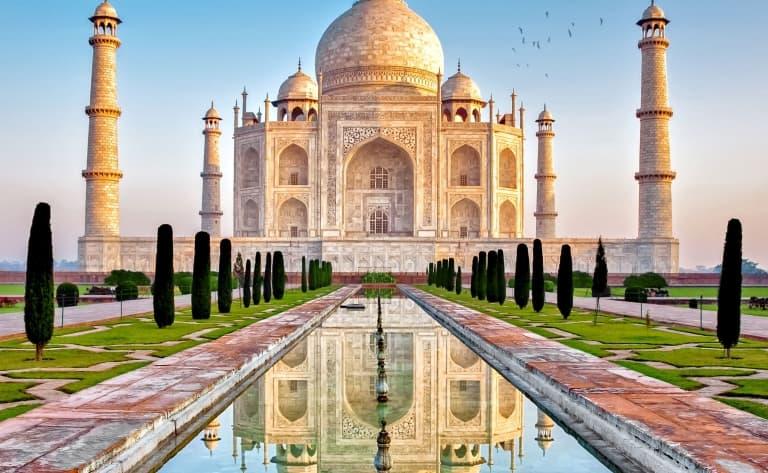 Le Taj Mahal ou extension