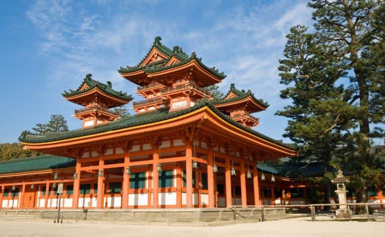 Temples et sanctuaires de Kyoto